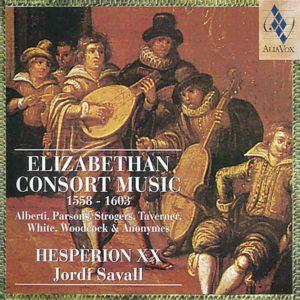 Elisabethean Consort Music. Jordi Savall