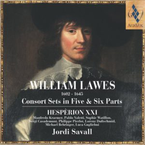 William Lawes. Consort Sets in Five & Six Parts. Jordi Savall