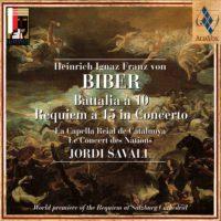 H.I.F von BIBER Battalia à 10 Requiem à 15 in Concerto