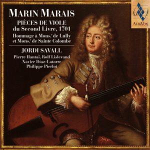 Marin Marais pièces viole - Jordi Savall