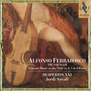 ALFONSO FERRABOSCO. The Younger Consort Music- Jordi Savall