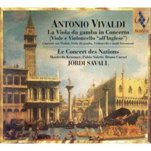 ANTONIO VIVALDI La Viola ga Gamba in Concerto. Jordi Savall