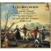 LUIGI BOCHERINI Fandango, Simfonie & Musica Notturna di Madrid