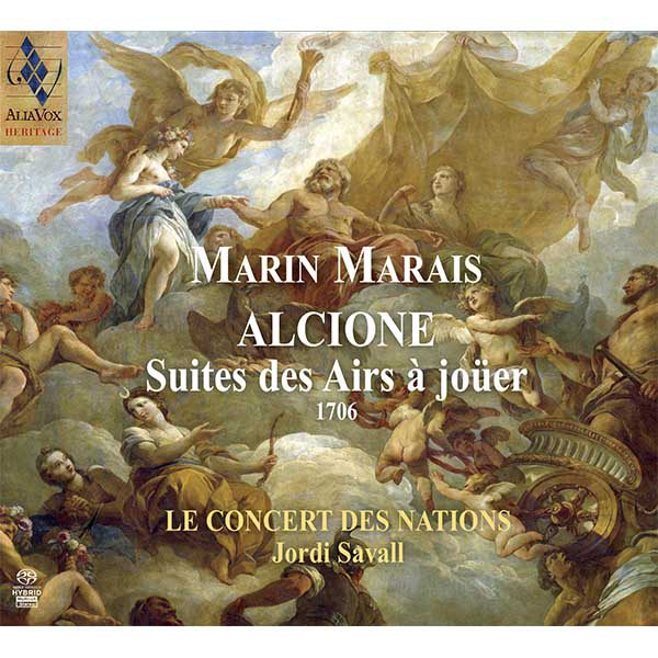 MARIN MARAIS Alcione Suites des Airs à joüer (1706)