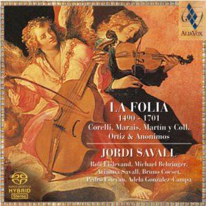 La Folia 1490-1701. Jordi Savall