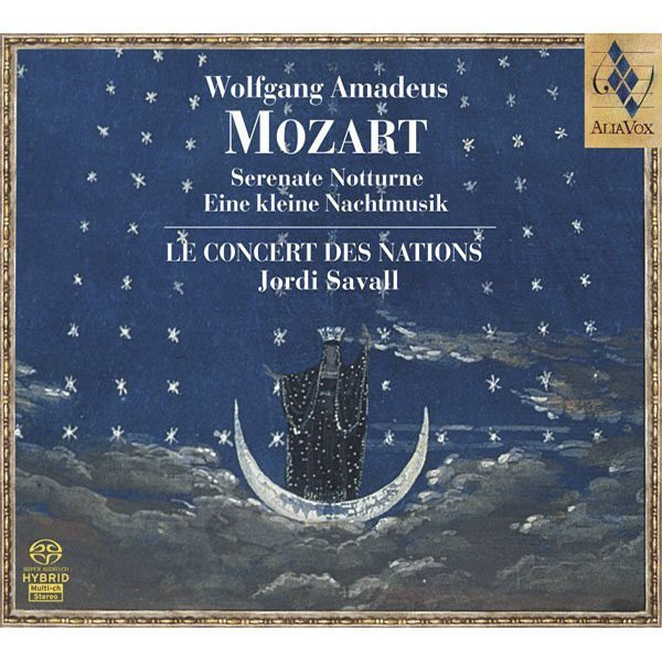 WOLFGANG AMADEUS MOZART Serenate Notturne