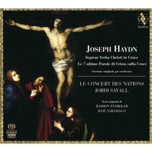 JOSEPH HAYDN Septem Verba Christi in Cruce . Jordi Savall