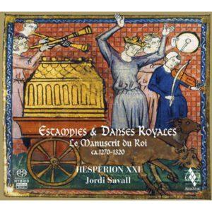 ESTAMPIES & DANSES ROYALES. Jordi Savall