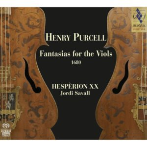 HENRY PURCELL Fantasias for the Viol 1680. Jordi Savall