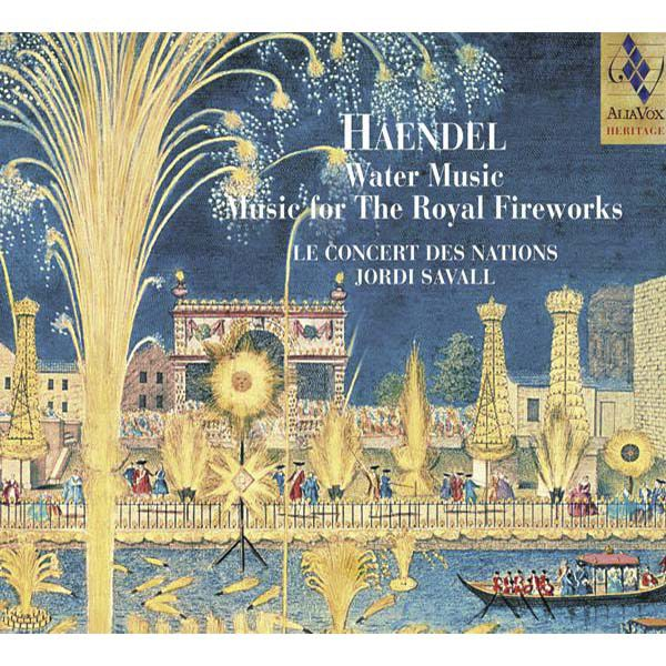 G.F. HAENDEL Water Music-Music for The Royal Fireworks