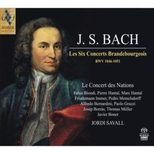 J.S. BACH Les Six Concerts Brandebourgeois. Jordi Savall