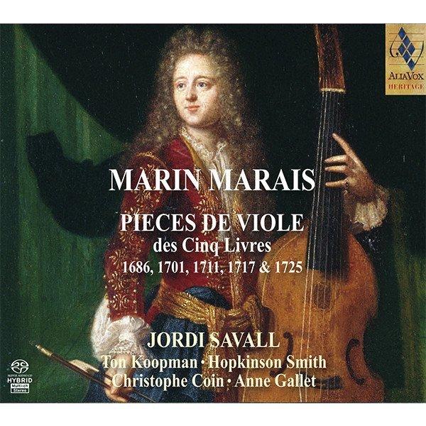 MARIN MARAIS. Pièces de viole des Cinq Livres