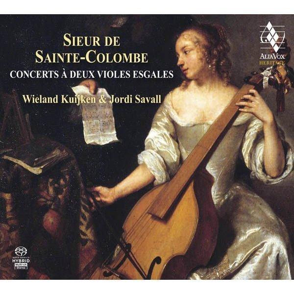 SIEUR DE SAINTE-COLOMBE Concerts à deux violes esgales