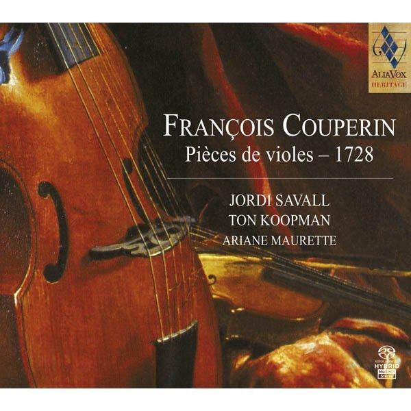 FRANÇOIS COUPERIN Pièces de violes – 1728
