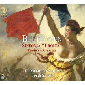 """Beethoven Sinfonia """"Eroica"""", Coriolan Ouverture. Jordi Savall"""