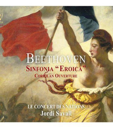 "LUDWIG VAN BEETHOVEN. Sinfonia ""Eroica"". Coriolan Ouverture"
