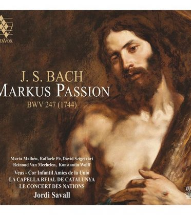 J.S. BACH – MARKUS PASSION
