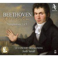 BEETHOVEN – Révolution <br/>Symphonies 1 à 5