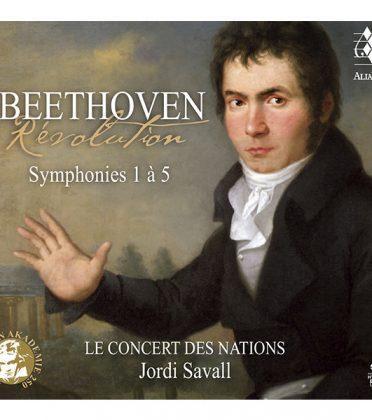 BEETHOVEN – Révolution Symphonies 1 à 5