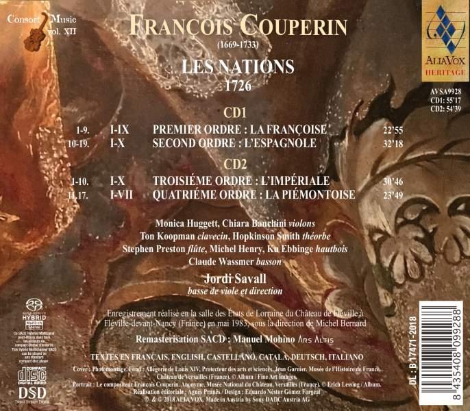 FRANÇOIS COUPERIN – Les Nations
