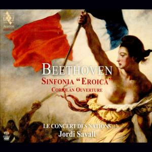 "LUDWIG VAN BEETHOVEN. Sinfonia ""Eroica"". Coriolan Ouverture foto"