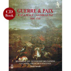 CD BOOK Guerre et Paix