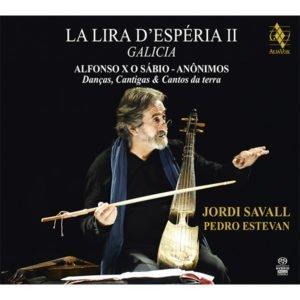 La Lira d'Espéria II Galicia. Jordi Savall